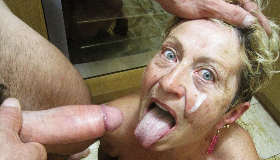 Amateure Grossmutter Sexmaschine Facialsex